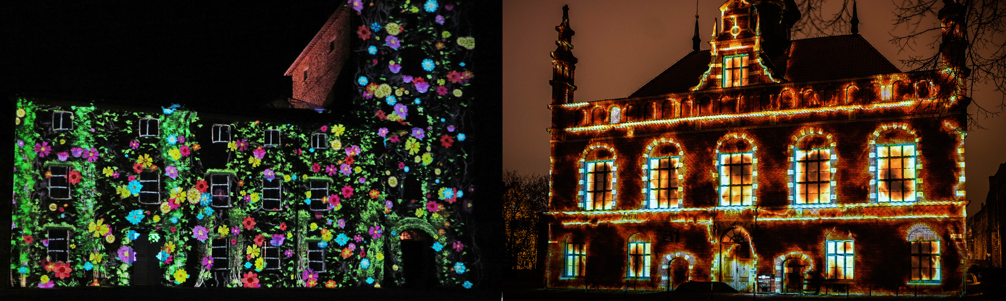 Video Mapping budynkow